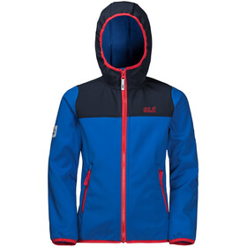 Jack Wolfskin Fourwinds Jas Kinderen, coastal blue